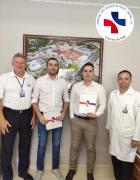 Gestores de saúde de São Mateus realizam visita de benchmarking no HSVP